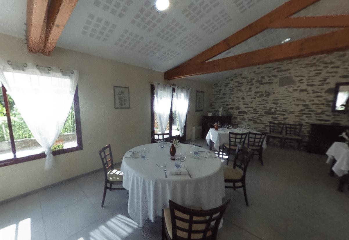 Le restaurant gastronomique du Domaine de la Bretonnière