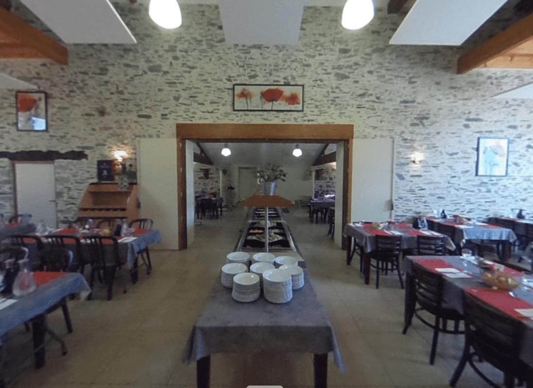 La formule « menu du jour » au Domaine de la Bretonnière